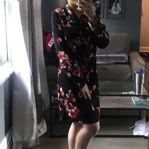 Merona Floral Dress
